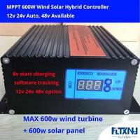 600 Вт MPPT 12V24V автоматический переключатель гибридный контроллер заряда низкого напряжения boost booster контроллер с дополнительным 232 связи