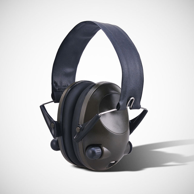 Anti-noise IPSC Impact Sport Hunting Electronic Tactical Earmuff Shooting Ear Protector Headphone Hearing Protection