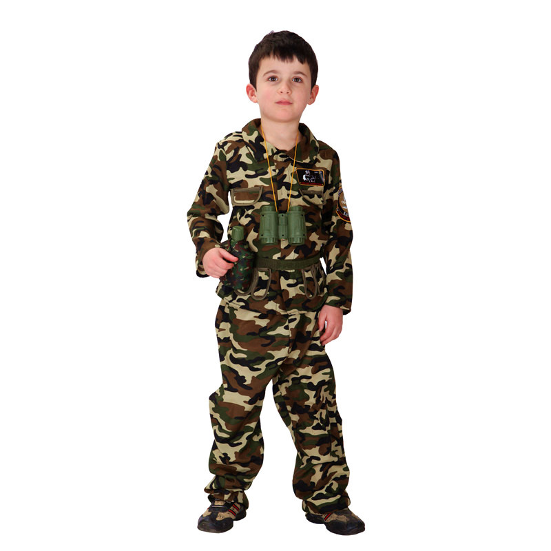 Boys Halloween Army camouflage uniform Costume Kids soldier Cosplay Children Special forces Role play Carnival Purim party dress-in Boys Costumes from ...  sc 1 st  AliExpress.com & Boys Halloween Army camouflage uniform Costume Kids soldier Cosplay ...