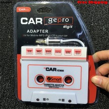 mosunx 3.5mm AUX Car Audio Cassette Tape Transmitters for MP3 for IPod for iPhone Android Smartphone Free Shipping(China)