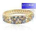 Hollow 18k gold plated Austrian Crystal Rhinestone Butterfly Bracelets Cloisonne Enamel Brand Bangles for Women Gift Jewelry