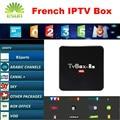 R9 RK3229 Android TV Box Rockchip 1 Año Envío 900 + Canales bélgica francés Árabe IPTV IPTV QHDTV/Neotv H.265 tv Smart box leadtv