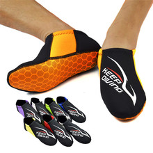 3MM Colorful Diving Neoprene Socks Black Beach Swimming Shoes Non-slip Prevent Scratches Snorkeling Equipment Fins
