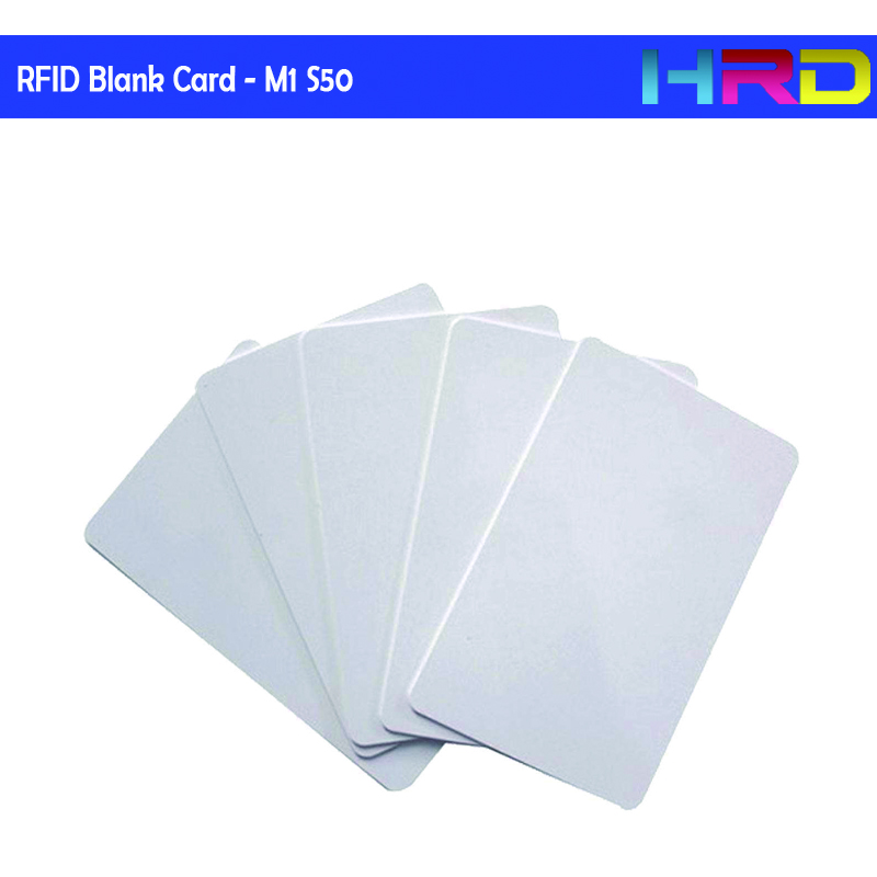 [50pcs/lot] China Mf 1k S50 Compatible Hotel Lock Room Keycard Access Control Key Card Pvc 85.5*54mm Standard Blank White Card