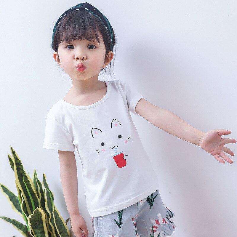 Baby Grl Summer Clothes Korean Children Clothing Short ... Korean Toddler Clothes