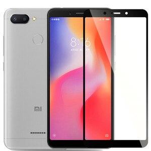 Image 3 - Đầy đủ bìa Tempered Kính Cho Xiaomi redmi 6 redmi 6 Bảo Vệ Màn Hình Cho redmi 6A toàn cầu Phiên Bản redmi 6A Bảo Vệ glass Phim