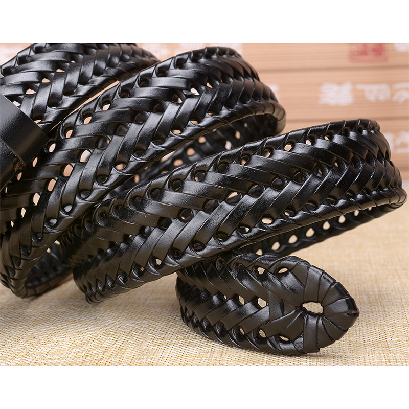 Pin Buckle Woven Knitted Quality Belt 10