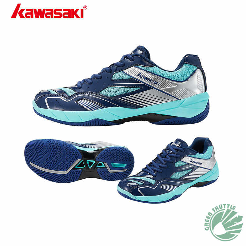 New Professional Kawasaki 100% 2019 Original K159 K-155 K-156 Sneakers High Elastic Encapsulated Unisex Badminton Shoes
