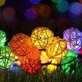 Iluminação do feriado Christms Movido A Energia Solar 6 M 30Led Luzes Festão Do Natal Ao Ar Livre Luzes Da Corda Do Jardim Luz Solar