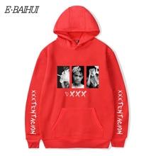XXXTentacion Hoodies Sweatshirt Men Women Casual Pullover Streetwear Sudadera Hombre Hip Hop HOODIES Funny Print Hoodies W010