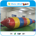 Free Shipping 5x2m Big Colorful Lake Inflatable Water Blob , Inflatable Water Launch For Sale
