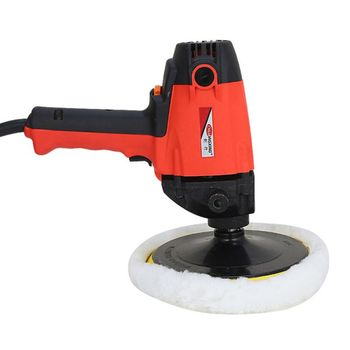 900W Auto Polishing Car Waxing Machine 2000R Electric Gloss Tool Power For Scratch Remove Beauty Car Care Repair Polisher Tools
