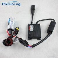 FStuning 1set Xenon Hid Conversion Kit 55W H7 H8 H11 H9 HID Xenon Headlamp Slim Ballast