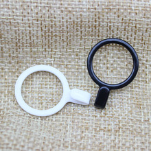 Bra material PP metal bra strap hooks Nylon Coated Lingerie Round shape 6mm/8mm/10mm/12mm/15mm/18mm