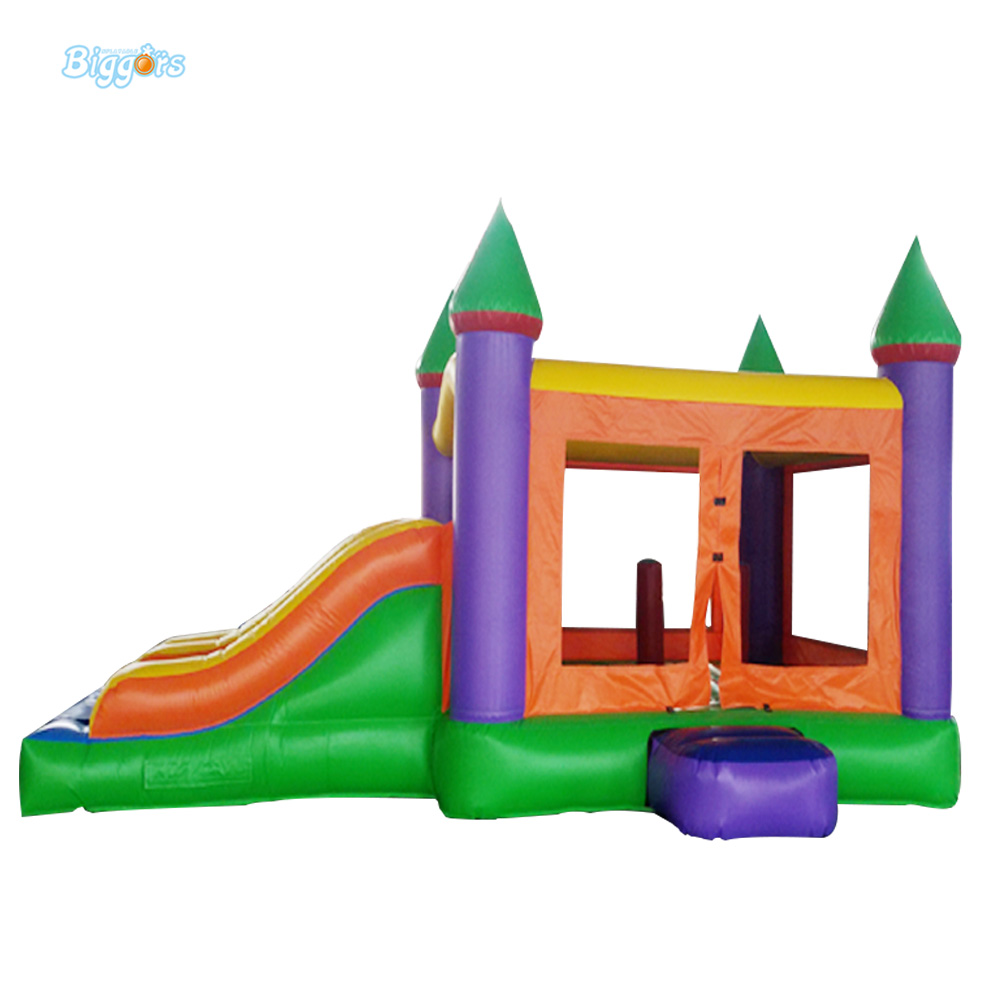 Double Slide Popular Inflatable font b Bouncer b font Jumper Castle Bounce House For Sale