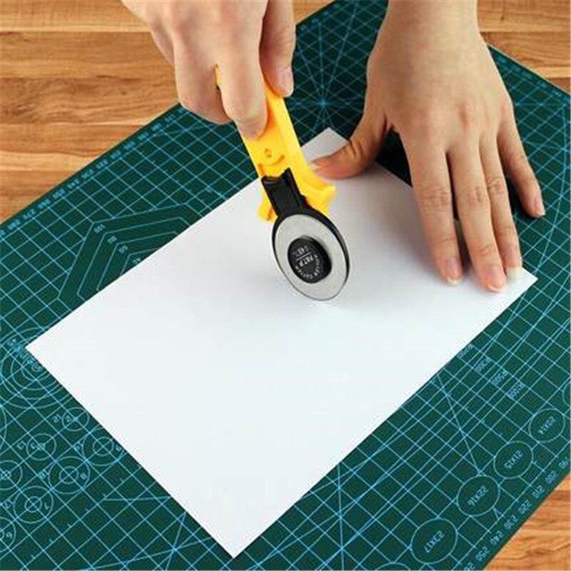 Hob Flat Rubber Rib Ruler Round Knife Cloth Cut Round Knife Cutting Cloth Knife Cutting Plate Blade 28/45MM