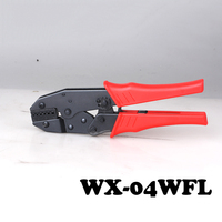 WX-04WFL Ratchet typu linia zacisk, cold press zacisk, naga terminal zaciskania szczypce (Europejski Styl)