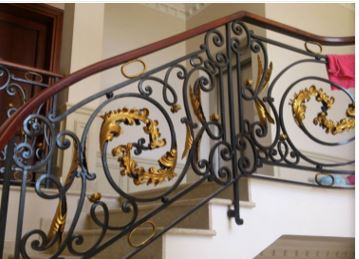 patio iron railing decorative rod iron railings iron railing supplies