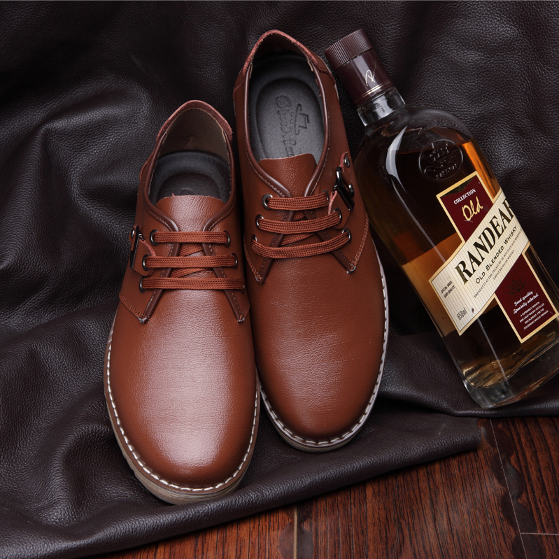 eb6bc8152cec6 High Quality Dressing Edge Stitching Oxford Shoes For Men Minimalist Casual  Footwear Black Brown Lace Up Leather Male Shoes-in Women's Flats from Shoes  on ...