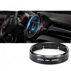 Интерьер автомобиля центральный контроль экранный инструмент панель Крышка Корпус отделка рамка декор для MINI Cooper One JCW F55 F56 F57