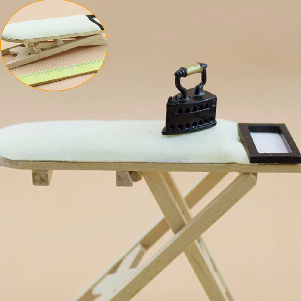 Dollhouse Miniature Ice Cube Bucket 1:12 Scale Fairy Home Kitchen Room Decor NIC