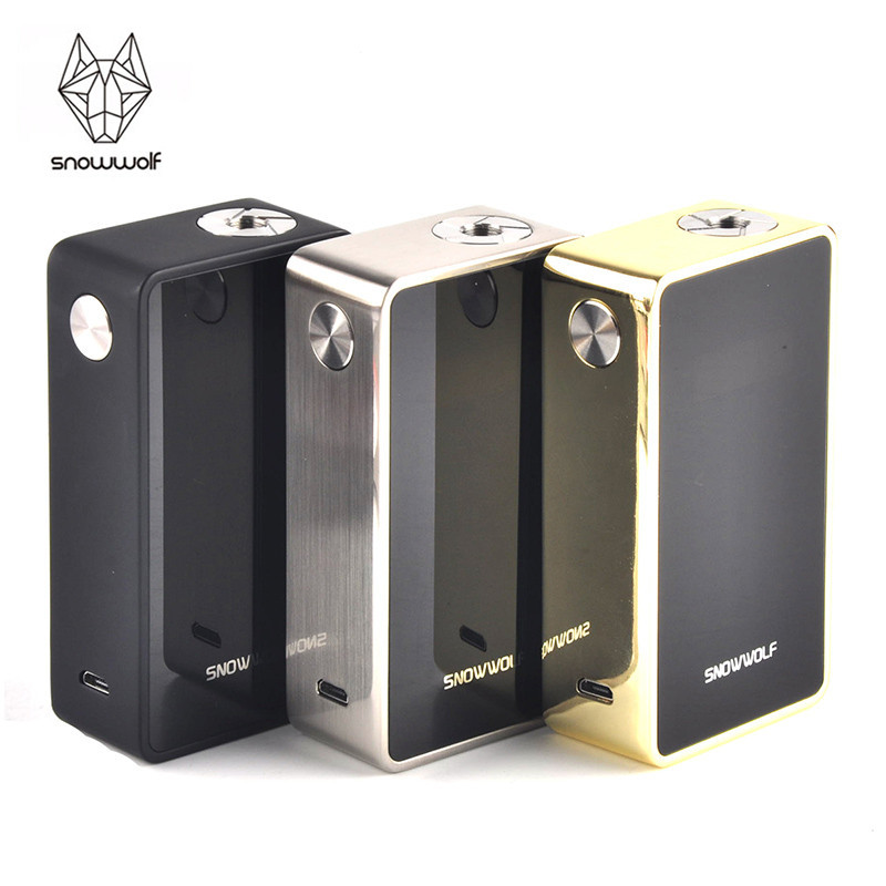 100% Original Snowwolf 200w Plus Electronic Cigarette Kit Vape mod 9 inch Big OLED with Touch Button Box Mod