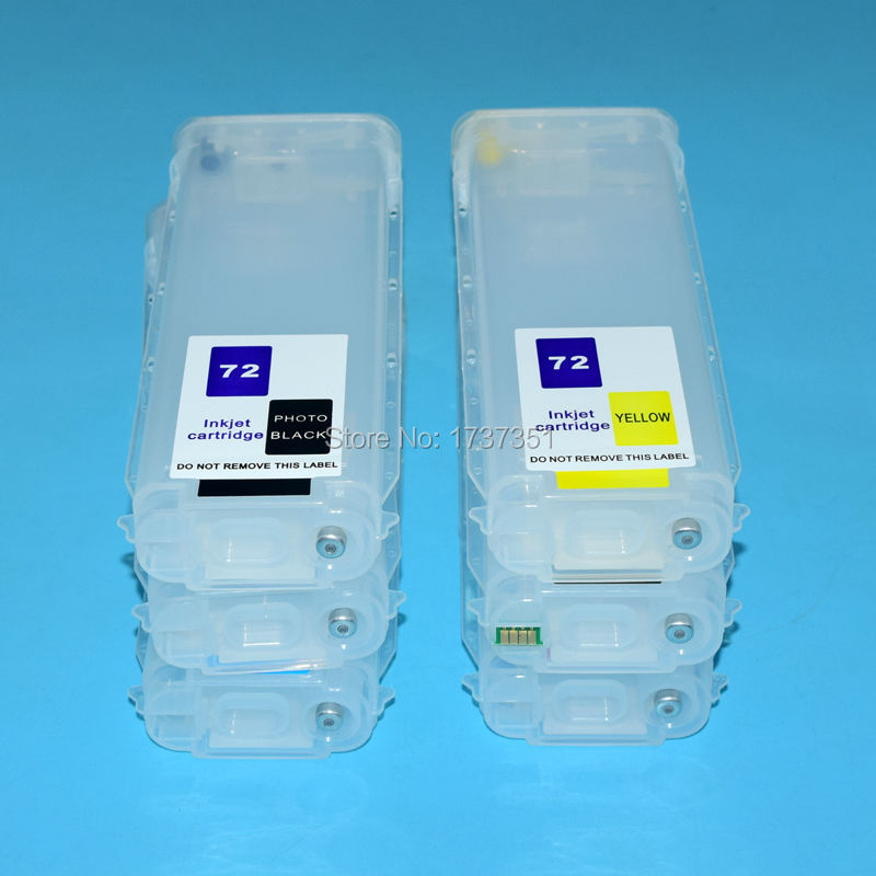 Boma.ltd 280ml HP72 ink cartridge for HP 72 with arc for HP Designjet t610 t620 t770 t790 t1100 t1120 t1200 t1300 t2300 printer