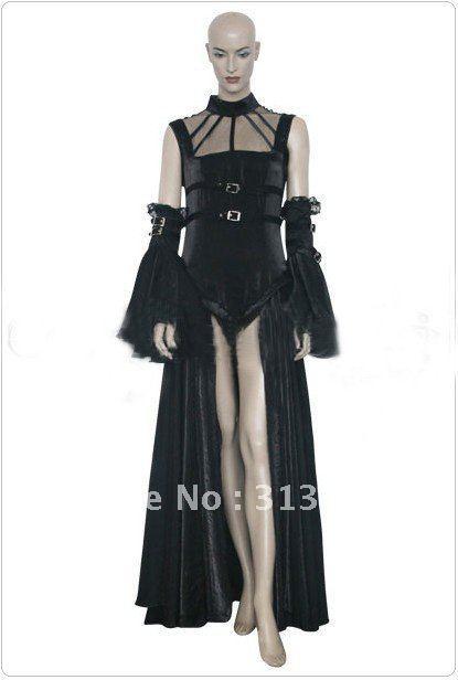 Chobits Freya Black Dress Cosplay
