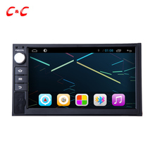 Quad Core HD 1024X600 Android 6.0 Car DVD Player for Universal with Radio GPS Navigation, Support Mirror Link SWC