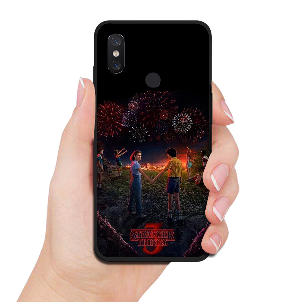 WEBBEDEPP Stranger Things tv TPU Cover for Xiaomi Redmi 5A 6A S2 5 Plus for Redmi Note 5 6 7 Pro Soft Case in Fitted Cases from Cellphones Telecommunications