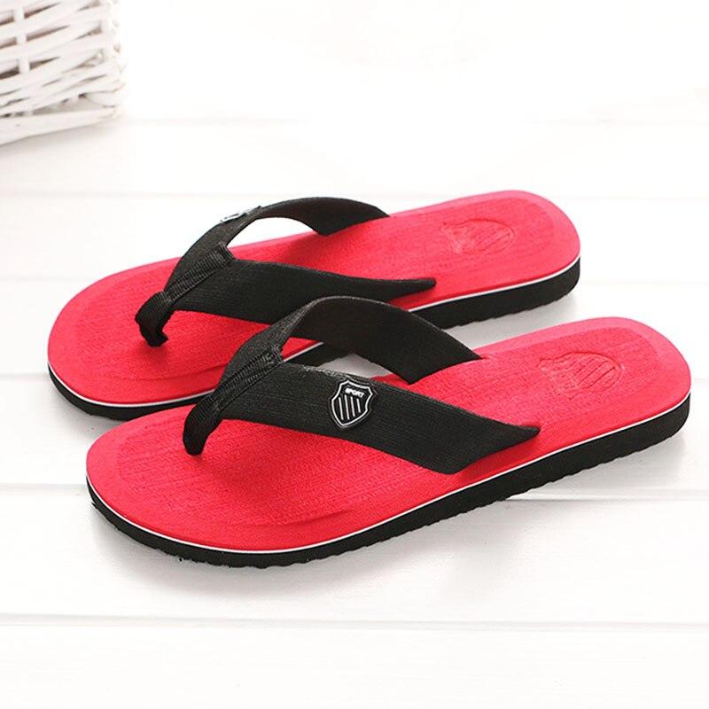 KESMALL Sommer Strand Hausschuhe Männer Flip-Flops Hohe Qualität Strand Sandalen Nicht-rutsche Männlichen Hausschuhe Zapatos Hombre Casual Schuh s321