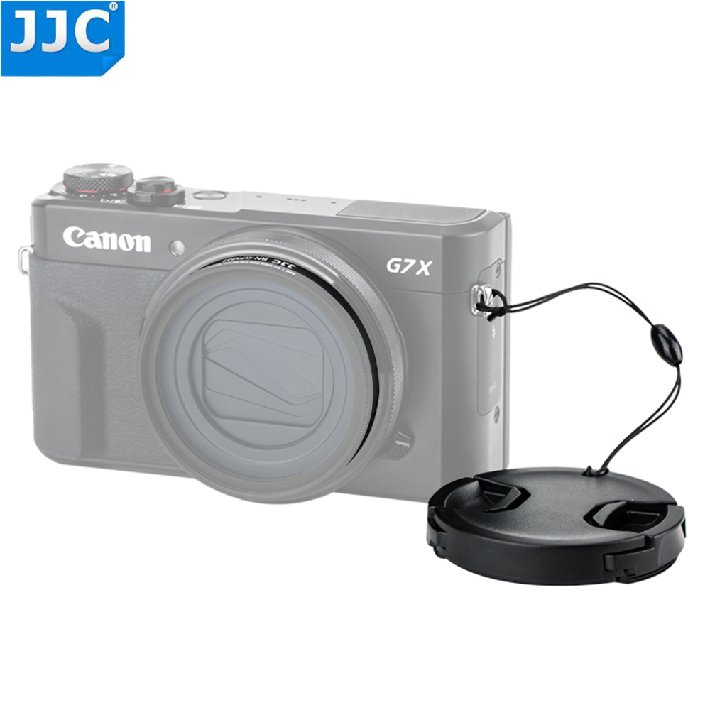 Jjc Lens Filter Adapter 49Mm Lens Cap With Keeper Package For Canon Powershot G5X G7X G7X Mark Ii