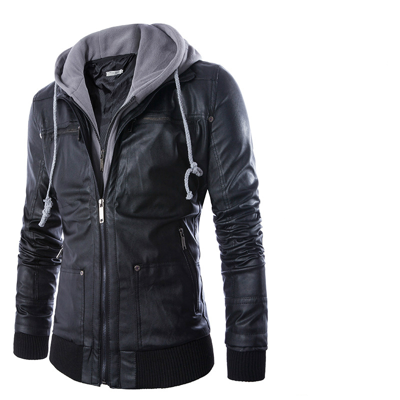 Online Get Cheap Hooded Leather Bomber Jacket -Aliexpress.com ...
