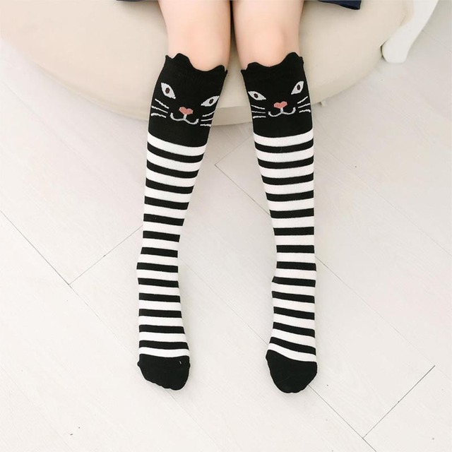 Новый Дизайн для девочек и мальчиков с героями мультфильмов Хлопковые гольфы средней носки без пятки для детей Высокое качество fj88