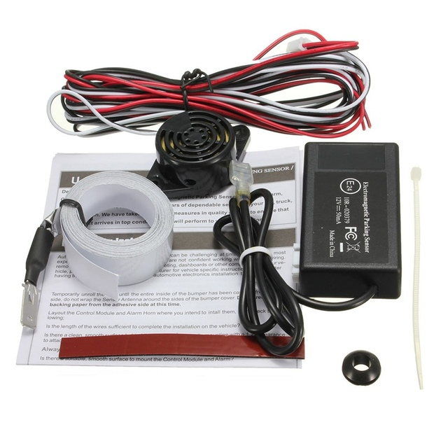 Top Quality Car Electromagnetic Rear Parking Sensor Monitor Auto Reverse Backup Radar Detector System Original Sensors