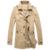 Nueva primavera hombres gabardina de algodón solo pecho slim fit larga outwear cazadora 4XL 5XL CCL05