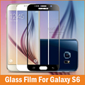 0.26mm Full Screen Tempered Glass Film For Samsung Galaxy S6 S7 Screen Protector protective Glass On For Samsung S6 9H Hardness