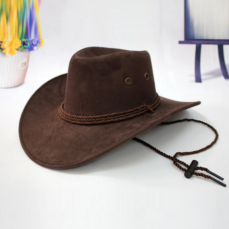 Western Cowboy Hat Men Riding Cap Fashion Accessory Wide Brimmed Crushable  Crimping Gift JL-in Cowboy Hats from Apparel Accessories on Aliexpress.com  ... 276dcfb5395