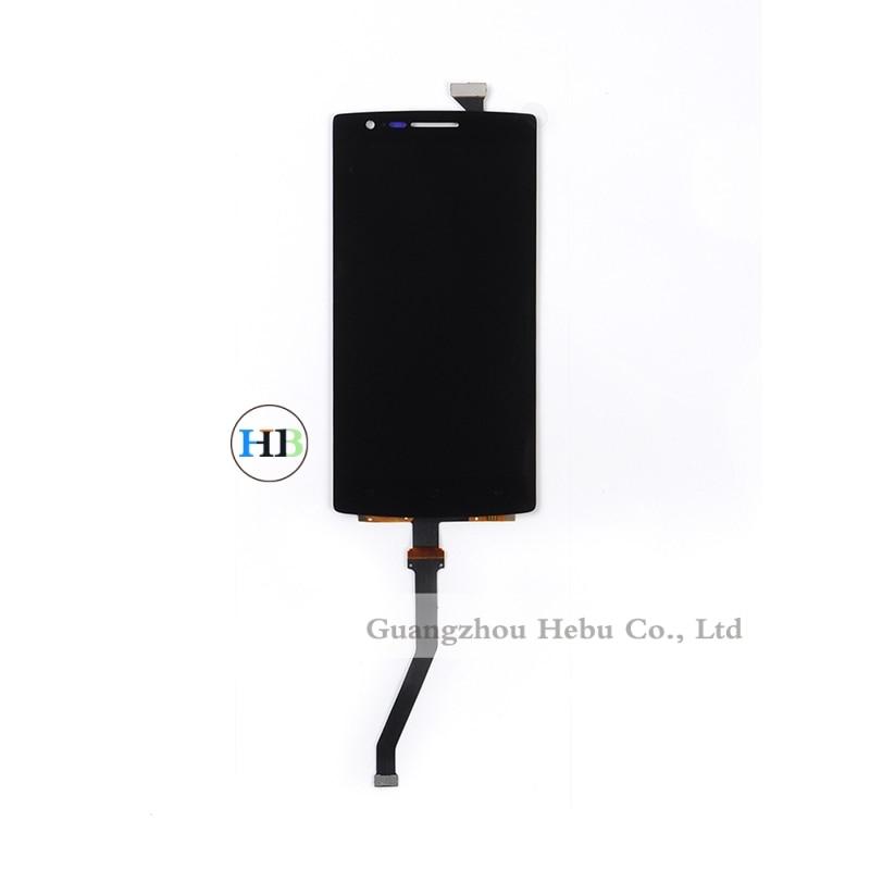 A estrenar lcd del teléfono del moblie para oneplus one 1 + s0001 Pantalla Lcd Con Panel Táctil de Cristal Digitalizador Envío Libre 1 unids + herramientas
