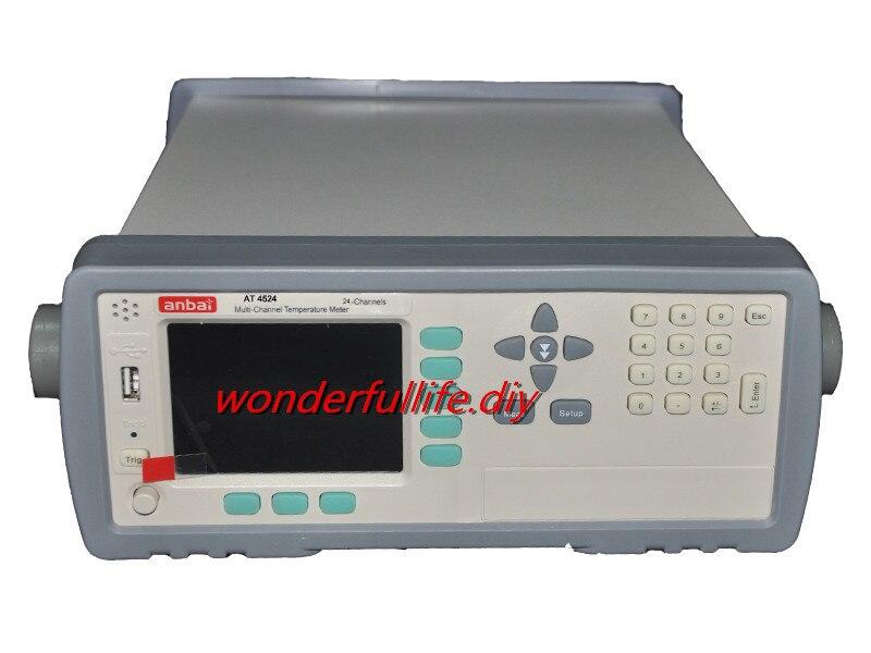 Enregistreur de température Thermocouple 24 canaux affichage Thermocouple compteur de température multicanal J/K/T/E/S/N/B