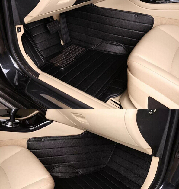 Newly Custom special floor mats for Audi A3 font b convertible b font 2016 non slip