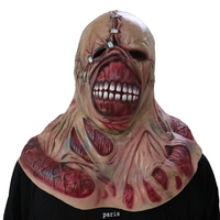Halloween Mask Cosplay Zombie Masks Scary Latex Masks Horror Bald Tyrant Cosplay Toy Movie Props Terror Toys Fancy Party Costume