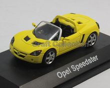 Opel Speedster Convertible Sport Car 1:43 Suki Alloy Model Diecast Cars Toy Vehicles Limited Edition Craft Miniature