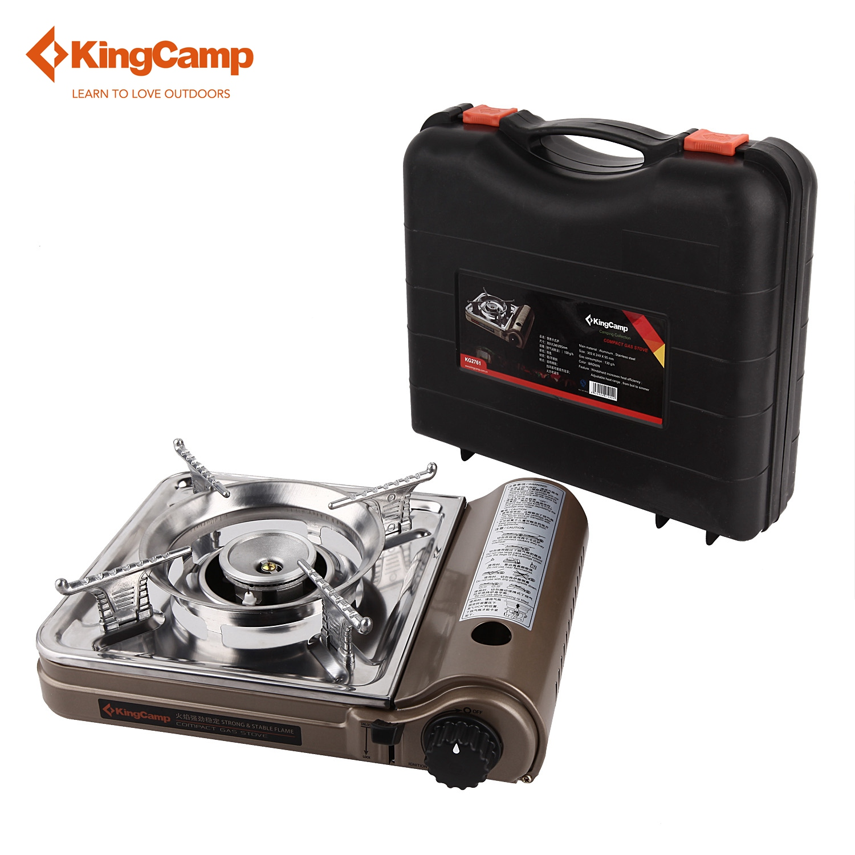 Kingcamp Portable Camping Kompor Outdoor Gas Untuk Hiking Mini Trekking Piknik Peralatan Berkemah Di Stoves Dari