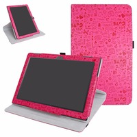 360 Degree Rotating Colorful Case For Lenovo Tab 4 10 Inch Tablet 2017 Version Folding Stand