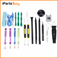 iPartsBuy for iPhone 7/7 Plus 20 in 1 Appropriative Professional Screwdriver Repair Open Tool Kit with Leather Handbag