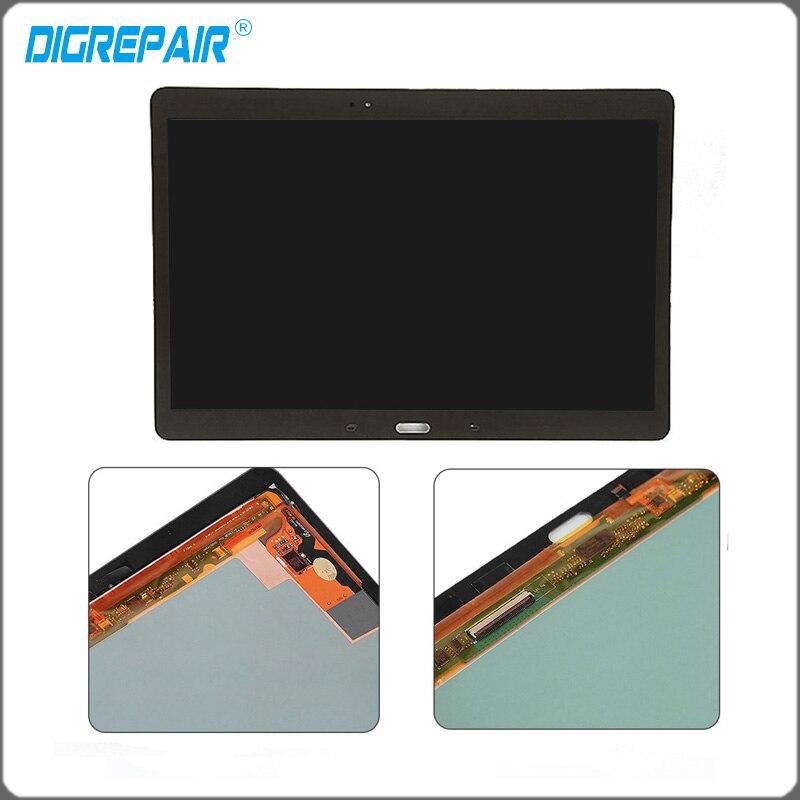 """imágenes para 10.5 """"oro blanco pantalla LCD de Pantalla Táctil con Digitalizador de montaje completo de piezas de repuesto para Samsung Galaxy Tab S T800"""