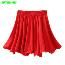 Woman Pleated Skirts Tennis Elastic Drawstring Mini Skirt With Built-in Shorts for Outdoor Running Dance boxed pleated grommet drawstring shorts