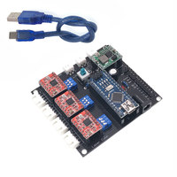 USB CNC 3 Axis Stepper Motor USB Driver Board Controller DIY Laser Engraver Control Board For