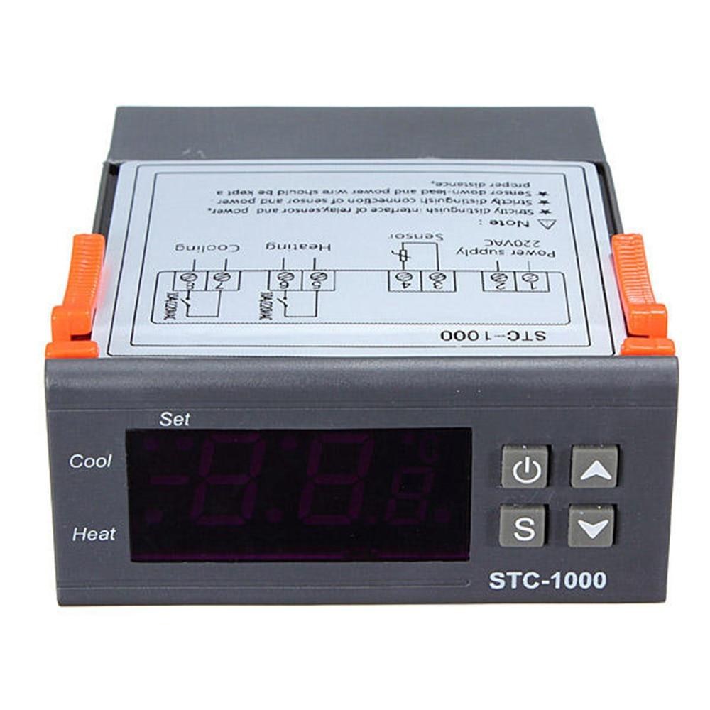 STC-1000 Computer Temperature Controller Sensor Thermostat Control Digital For Aquarium